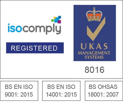 ISO Comply accredited